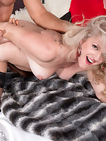 50 Plus MILFs - Val gets into porn, and a porn stud gets into Val - Val Kambel (50 Photos)