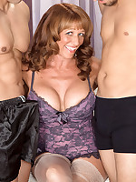 50 Plus MILFs - Ass-Fucked Times Two! - Sheri Fox (55 Photos)