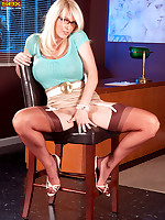 Leg Sex - Red Party Line - Charlee Chase (52 Photos)