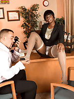 Leg Sex - Climb That Corporate Ladder - Stacy Adams (64 Photos)