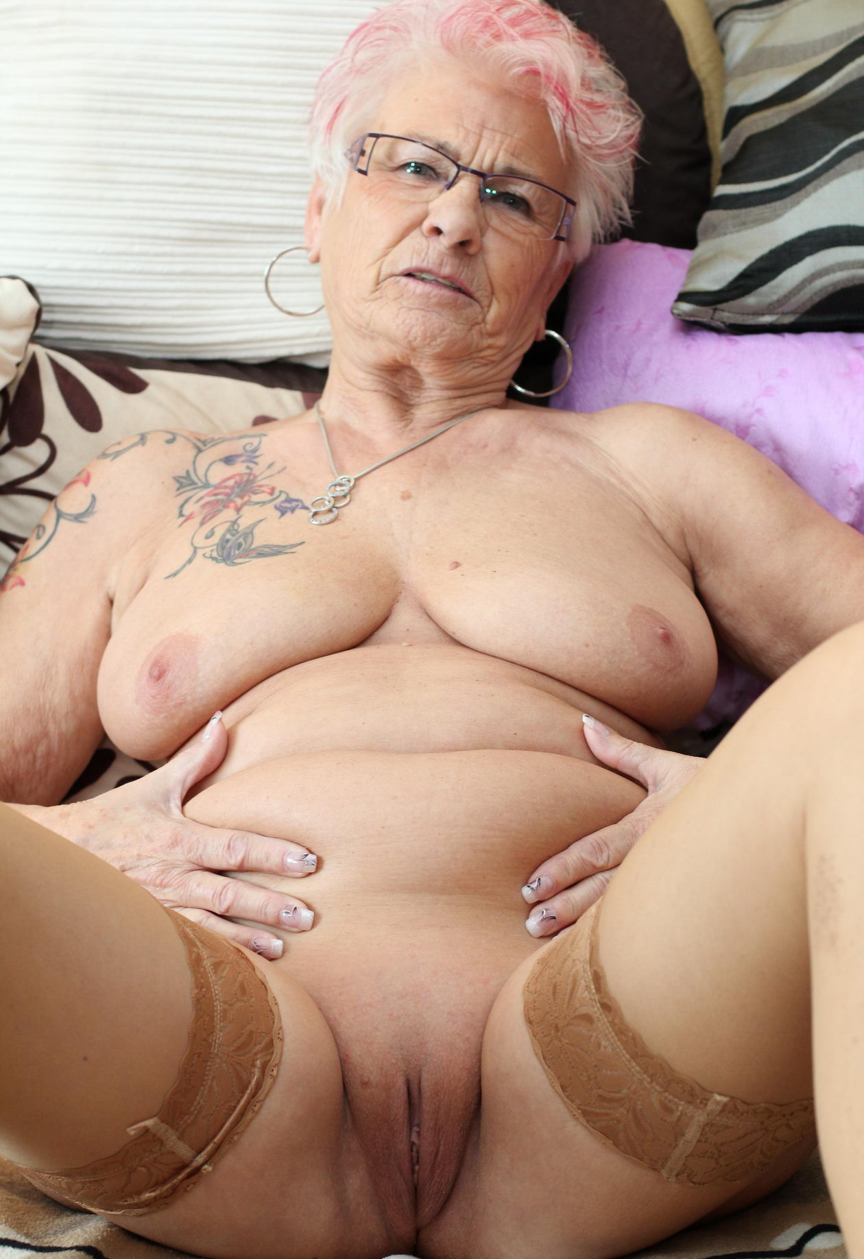 image 59 years granny slut fucked in all her holes